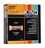KIND Fruit & Nut Minis, Almond & Apricot, 5-Count Bars (Pack of 4)