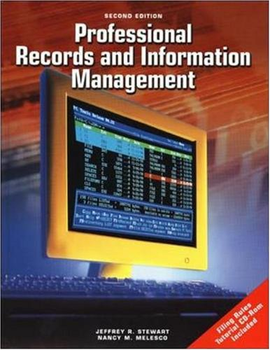 Professional Records And Information Management Student...