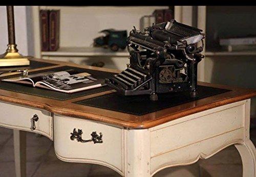 MK DF832setw Schreibtisch inklusiv Holzstuhl Vintage