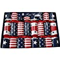 8-Set Stars and Stripes Party Crackers