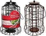 Bird Fat Ball Feeder Squirrel Proof Wild Bird Care Feed Garden Hanging