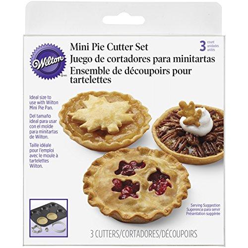 Wilton Mini Pie Cutter Set, Autumn (Pie Decorating Set compare prices)