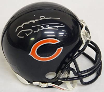 Mike Ditka Signed Autographed Bears Riddell Mini Helmet