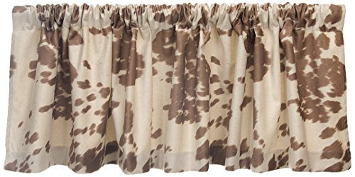 Sweet Potato Happy Trails Window Valance, Tan/Cream