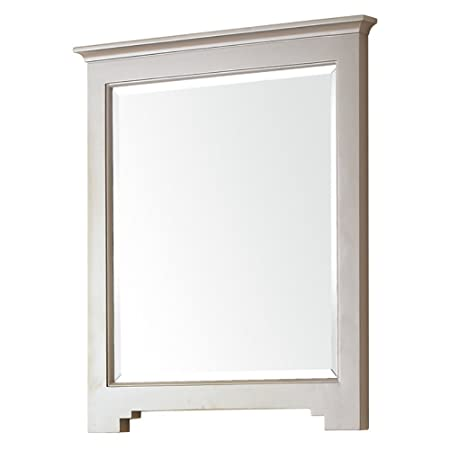"Avanity NEWPORT-M28-FG Newport Mirror, 28"", French Gray Finish"