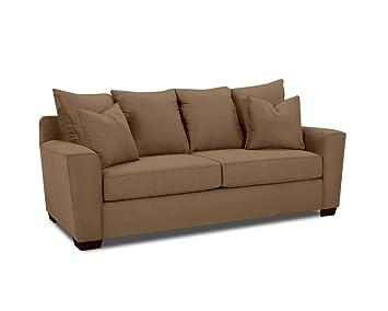 Klaussner HEATHER Sofa, Chocolate