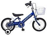 リーズポート(REEDSPORT) 14インチ ブルー 補助輪付き 組み立て式 子供用自転車 幼児自転車