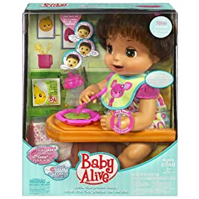 Baby Alive Hispanic Doll