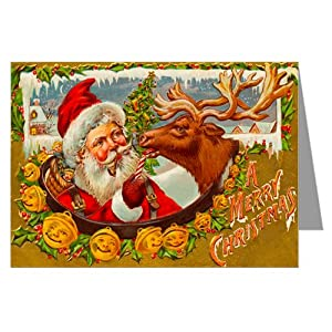 Boxed vintage reproduction christmas cards