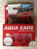 Aqua Ears Disney Cars Soft Silicone Ear Plugs 3 Pairs