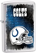 Zippo NFL Brushed Chrome Indianapolis Colts Lighter