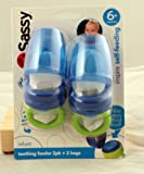 Sassy Teething Feeder, Blue