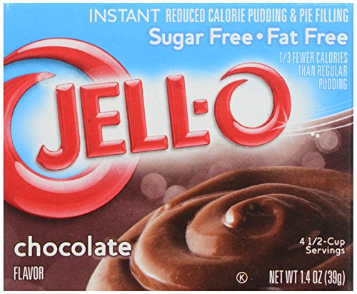 Jell-O Chocolate Sugar Free/Fat Free, Instant Pudding & Pie Filling, 1.4 oz (Tassimo Fat Free compare prices)