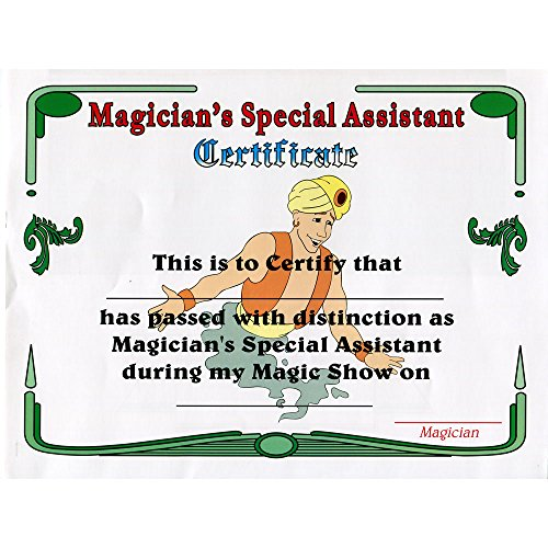 MMS Magician's Assistant Certificate by Uday - Trick