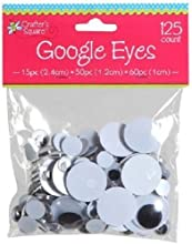 Crafters Square Educational Products - Crafter39s Square Google Eyes - 3 size assortment - 125 Count