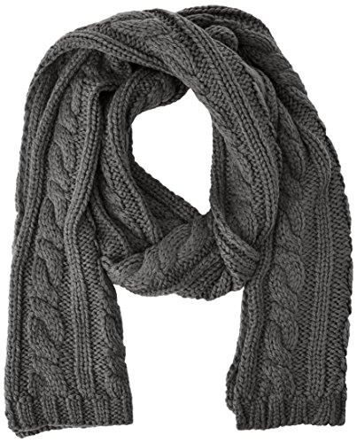 Selected SHJim long scarf H-Sciarpa Uomo    Grigio (Medium Grey Mélange) Taglia unica
