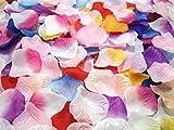 フラワーシャワー カラフルMIX【20色・計1000枚] セット  パーティー・ウェディング演出グッズ