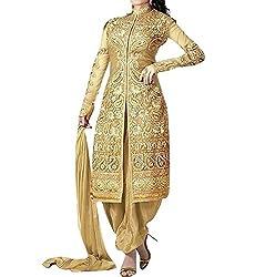 FastColors Women's Georgette Dress Material