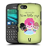 Head Case Curly Kawaii Three Little Pigs Back Case Cover For Blackberry 9720
