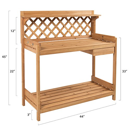 Best Choice Products® Potting Bench Udendørs Have arbejdsbord ...