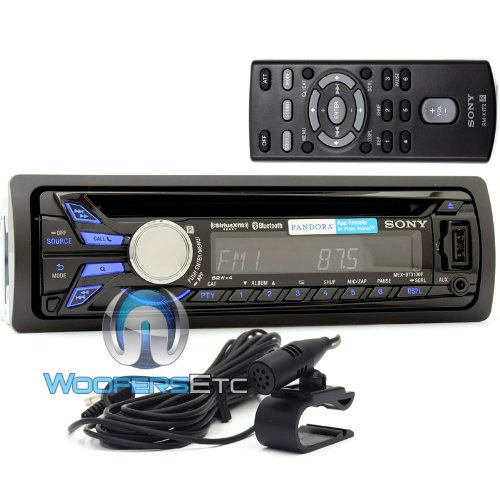 mex bt3100p sony in dash cd mp3 wma car stereo receiver. Black Bedroom Furniture Sets. Home Design Ideas