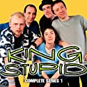 King Stupid: Complete Series 1  by BBC Audiobooks Narrated by Simon Pegg, Sue Perkins, Peter Baynham, Morwenna Banks