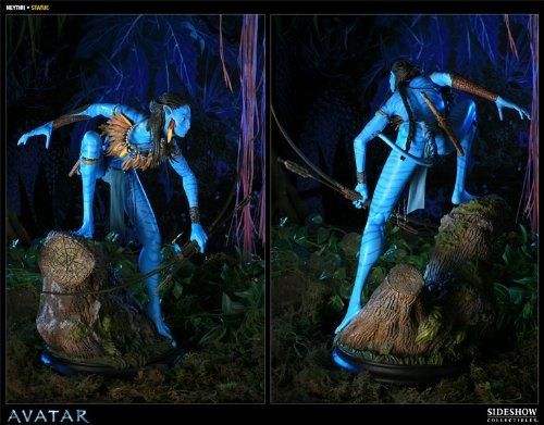 Buy Low Price Sideshow Avatar Neytiri 16″ Polystone Statue Figure (B005FNA18I)