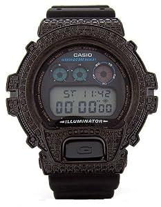 Casio G-Shock Custom 4.50 ct Black Diamond 466 pcs Mens Watch