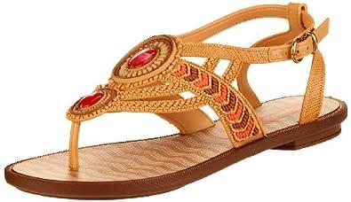 Grendha Navajo Sandal, Sandales femme - Beige (22266), 37 EU