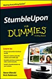 StumbleUpon For Dummies (For Dummies (Computer/Tech))