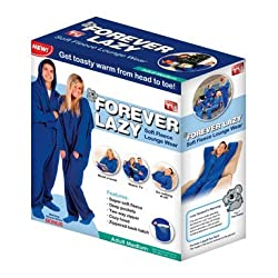 Funny product Forever Lazy Soft Fleece Adult Lounge Wear L/XL