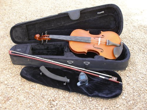 Gliga Violin Gems 2, 4/4 Full Size, Case, Bow, Shoulder Rest, Electronic Tune
