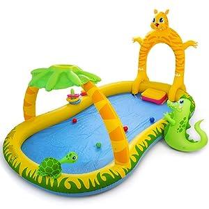 Piscina gonfiabile playground per bambini giungla safari - Amazon piscina bambini ...
