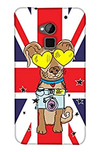 Print Haat Back Case Cover for HTC ONE MAX (Multicolor)