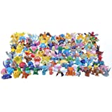 24 verschiedene Pokemon Figuren im Set (1-3cm) (z.B. für Adventskalender)