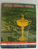 img - for 1963 Ryder Cup Official Program for the 15th Biennial Ryder Cup East Lake Country Club Atlanta 1963 book / textbook / text book