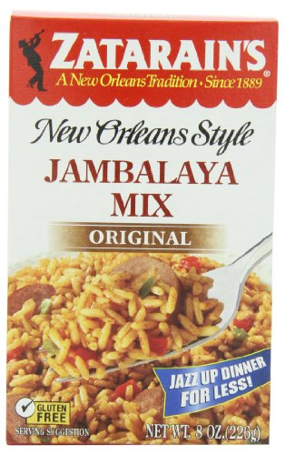 Zatarain's New Orleans Style Jambalaya Mix, 8-Ounce Boxes (Pack of 12)