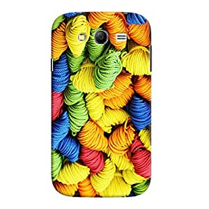 ColourCrust Samsung Galaxy Grand Neo Plus Mobile Phone Back Cover With Colourpul Pattern Style - Durable Matte Finish Hard Plastic Slim Case