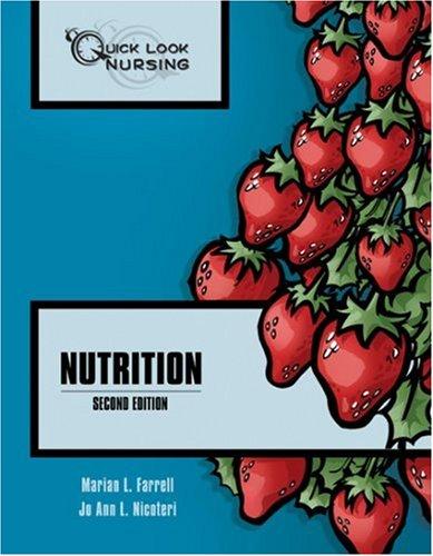 Quick Look Nursing: Nutrition