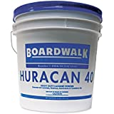 Boardwalk HURACAN40 Low Suds Laundry Detergent, Powder, Fresh Lemon Scent, 40 lb. Pail
