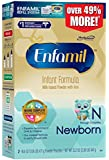 Enfamil Newborn Infant Formula, Refill Box, 33.2 Ounce (Packaging May Vary)