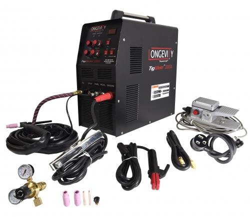 Great Deal! LONGEVITY Tigweld 200sx - 200 Amp AC DC Tig/Stick Welder with Digital Display 110v 200v