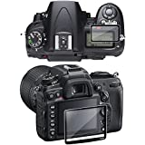 eForCity 2-LCD Kit Screen Protector Glass Compatible with Nikon D7000
