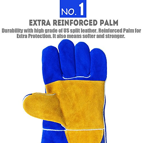QeeLink-Heat-Resistant-Welding-Gloves-Reinforced-Palm-Cotton-Lined-And-Kevlar-Stitching-Suitable-For-Gardening-Gloves-Camping-Gloves-Fireplace-Gloves-Work-Gloves-14-inch