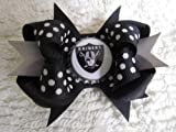 Oakland Raiders Hair Bows at Amazon.com