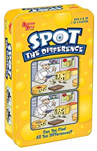 University Games Spot The Difference Tin