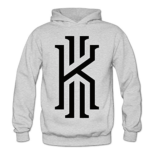 XJBD Women's Basketball Superstar Kyrie #2 Irving Funny Hoodies Ash Size M (Oversize Crock Pot compare prices)