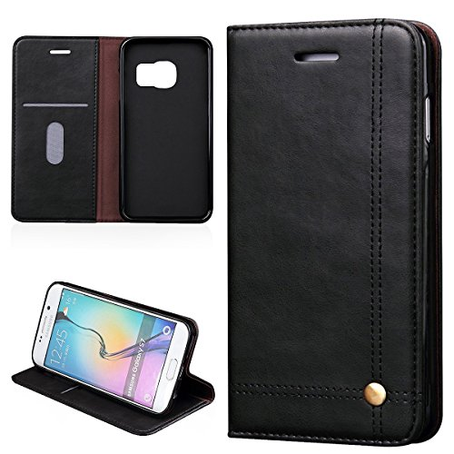 verttek-leather-case-for-samsung-galaxy-s7-edge-retro-cover-classic-black-flip-case-full-body-with-c