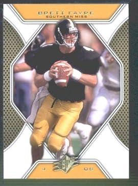 2010 Upper Deck SPx Football Card # 55 Brett Favre - Golden Eagles / Minnesota Vikings (NFL Trading Card)