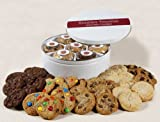 Soozies Doozies Soft and Rich Cookie Gift Tin. 42 Fresh Baked Cookies for All Occasions.